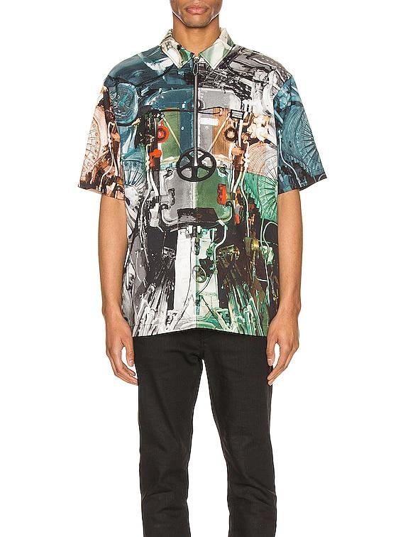 Hyde Shirt in Monochrome IP Pattern