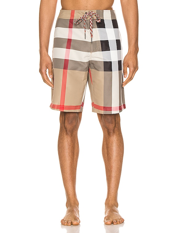 Breton Shorts in Archive Beige IP Check