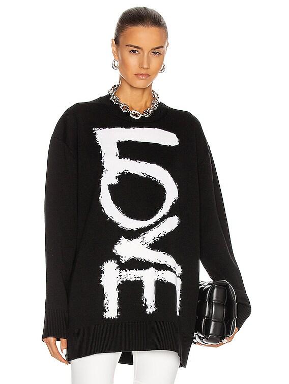 Locklyn Love Sweater in Black