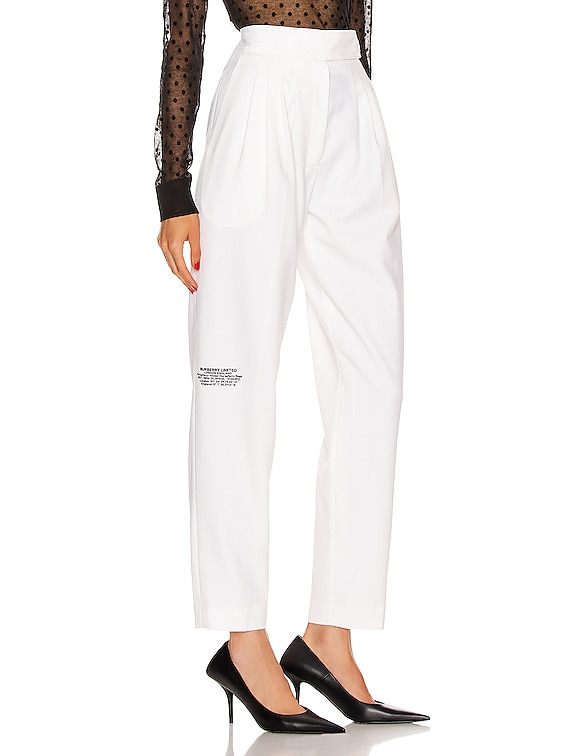 Marleigh Pant in Optic White