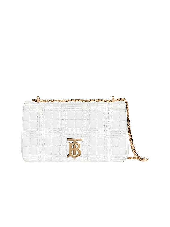 Small Lola Crossbody Bag in White