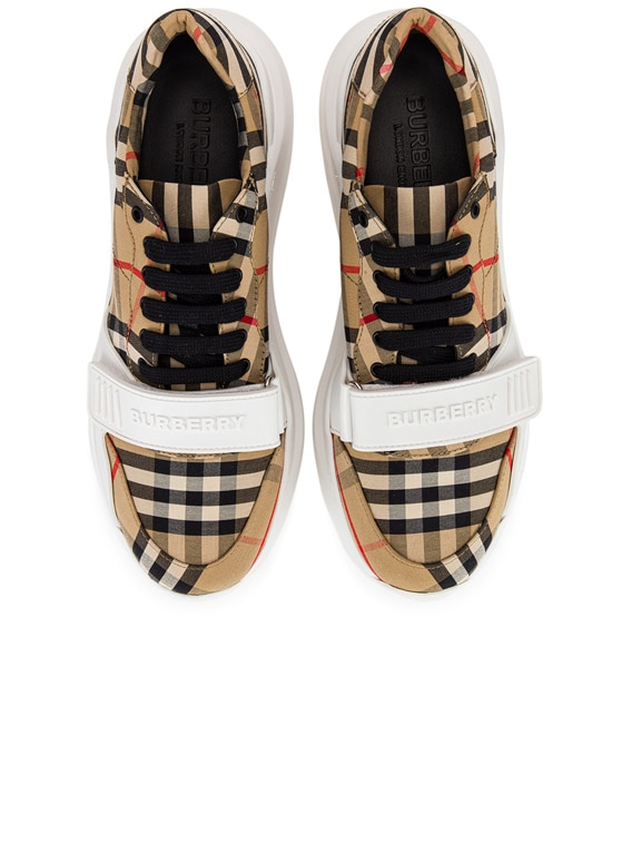 Regis Low Top Sneakers in Archive Beige