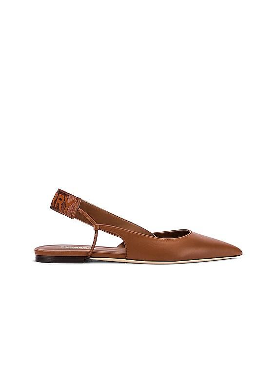 Maria Flats in Tan