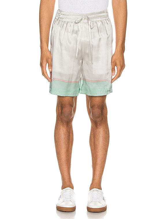 Printed Shorts in Les Coquillages Mint