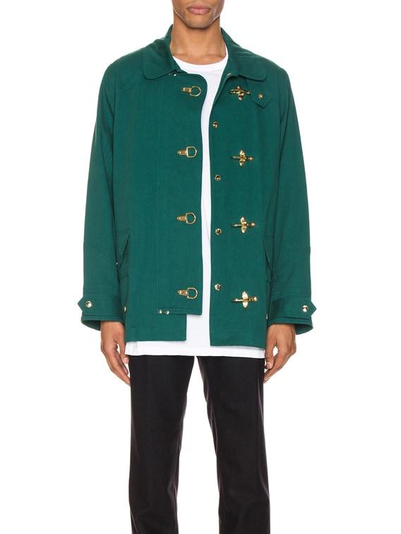 Fisherman Jacket in Green