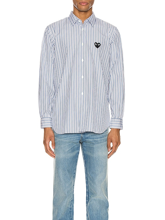 Striped Shirt in Blue