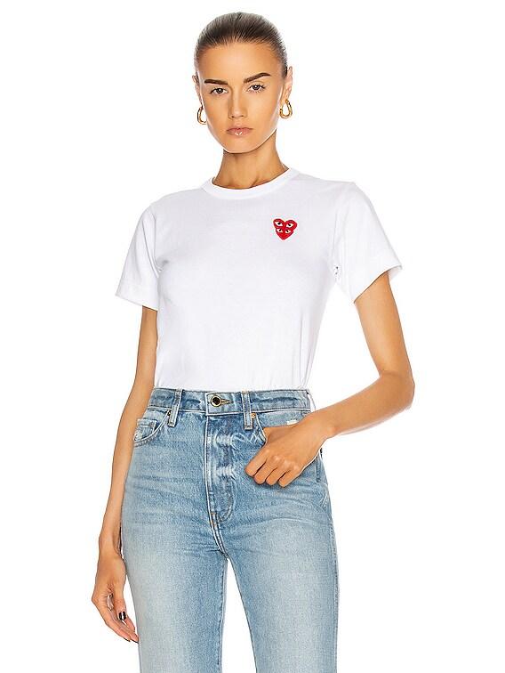 Tee Shirt in White