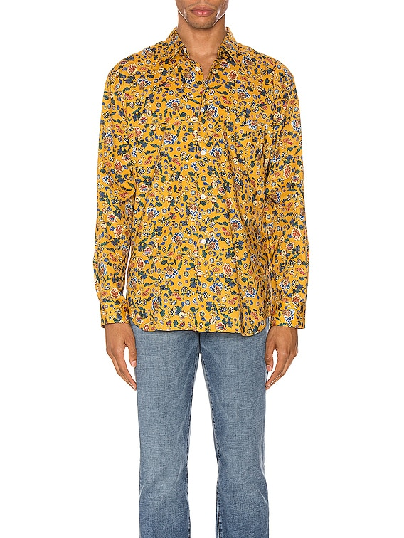 Long Sleeve Shirt in Yellow