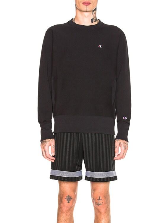 Crewneck Sweatshirt in Black
