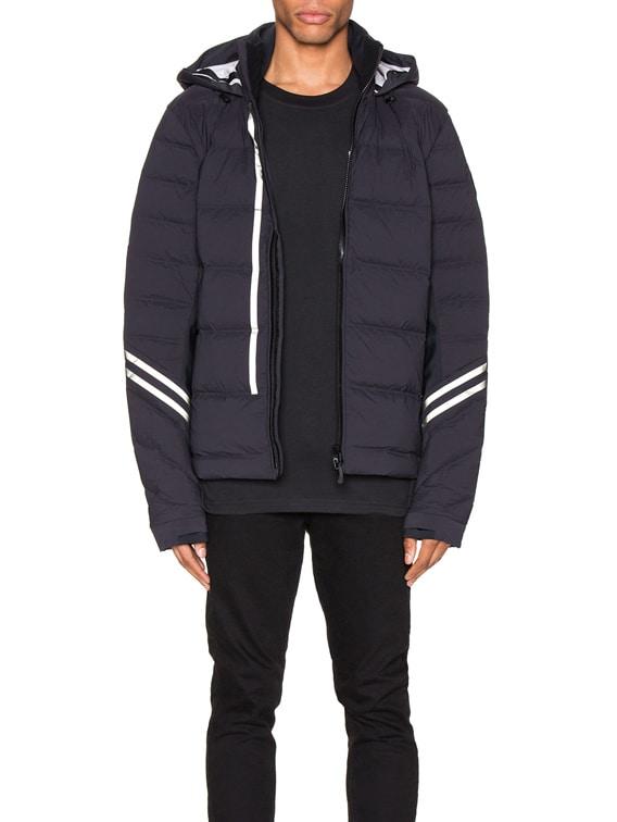 Black Label Hybridge CW Jacket in Black