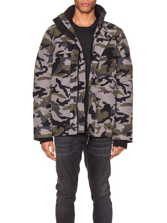 Forester Jacket in Coastal Grey Camo