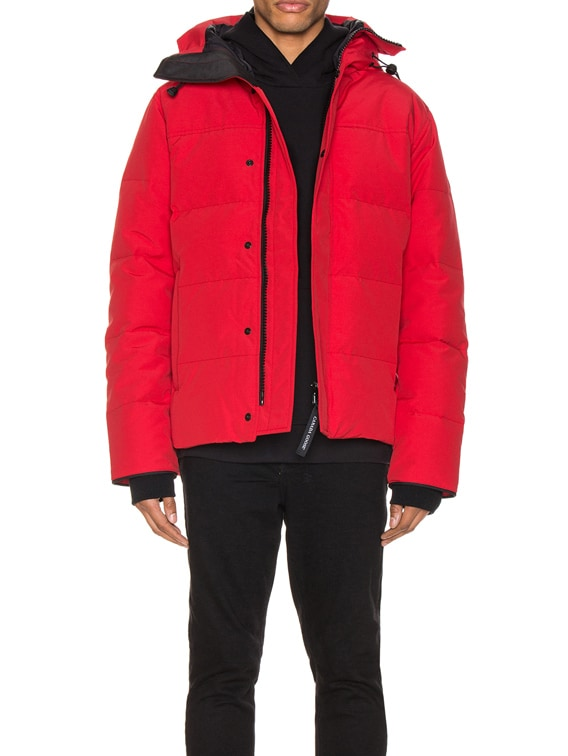 Macmillan Parka in Red