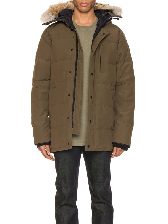 Carson Parka in Military Green