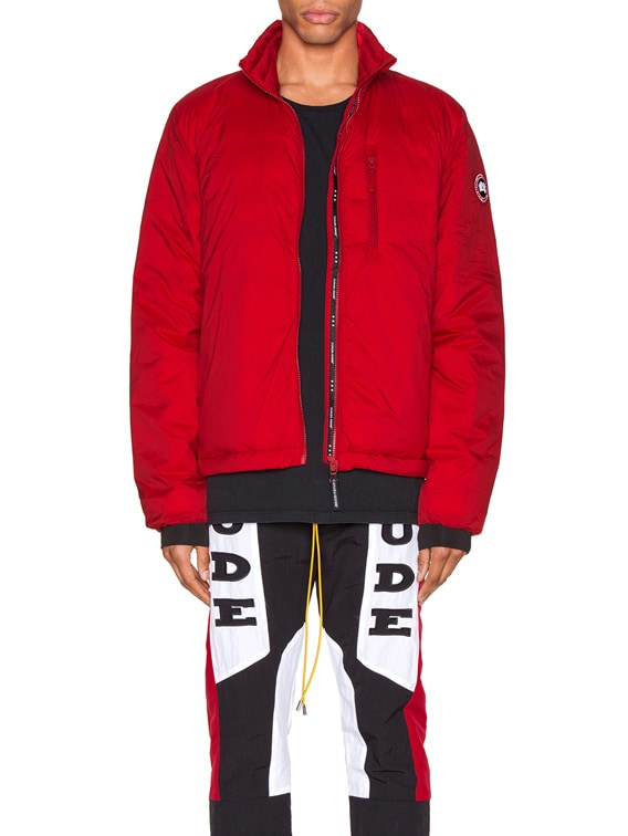 Lodge Jacket in Red