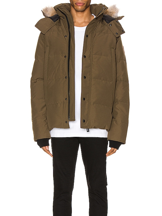 Wyndham Parka in Military Green