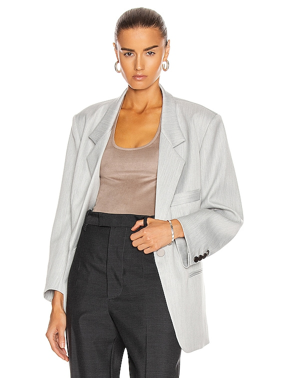Boy Scout Blazer in Melange Grey