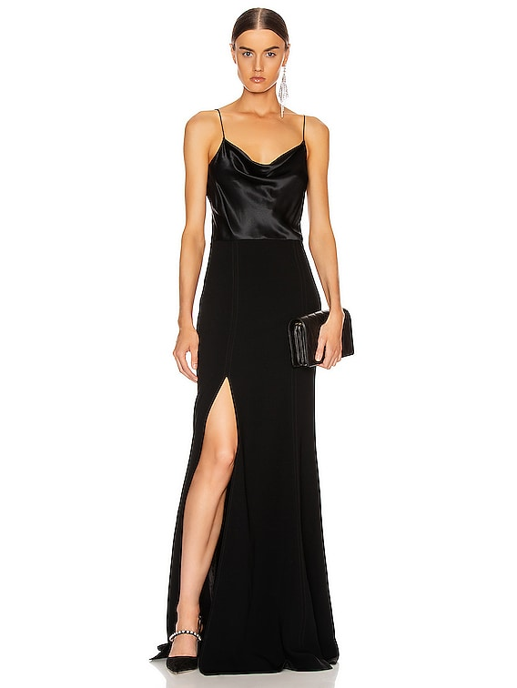 Ana Gown in Black