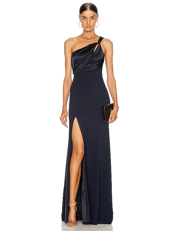 Faye Gown in Navy