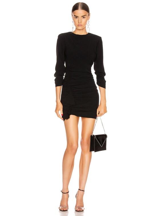Crepe Natalia Dress in Black