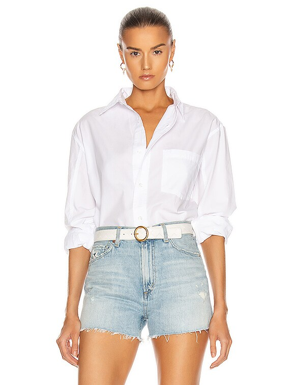 Kayla Shirt in Optic White