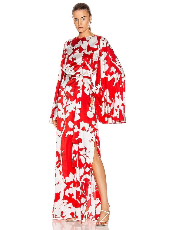 Lilliana Dress in Red