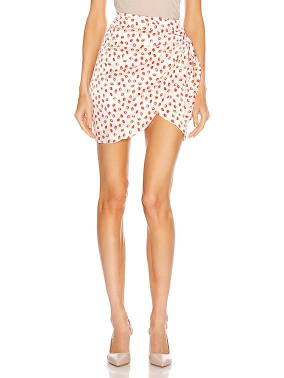 Koren Skirt in Strawberry