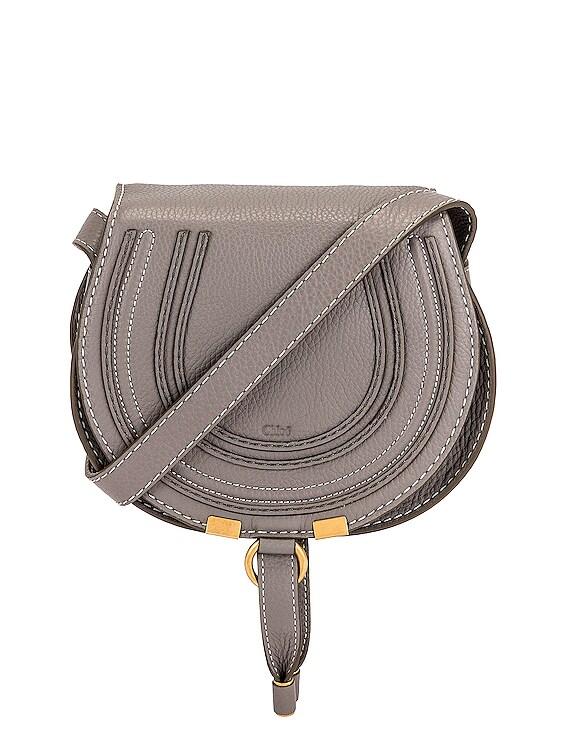 Small Marcie Crossbody Bag in Cashmere Grey
