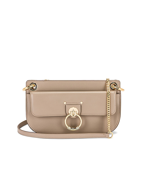 Mini Tess Crossbody Bag in Motty Grey