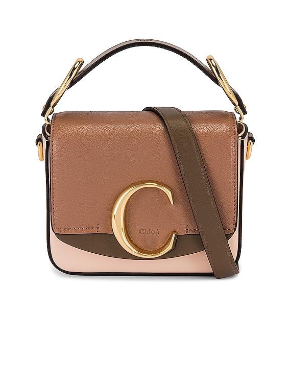 Mini C Square Bag in Pink