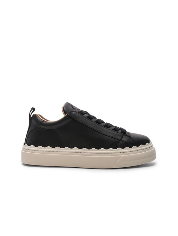 Low Top Sneakers in Black