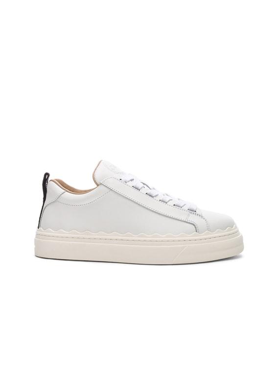 Lauren Low Top Sneakers in White