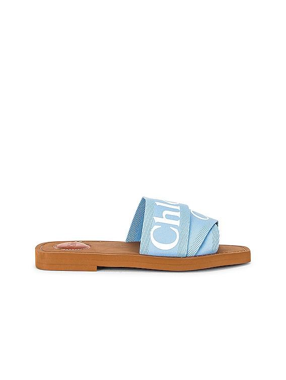 Woody Slides in Graceful Blue