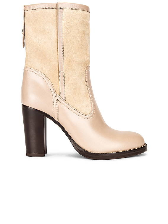 Emma Ankle Boots in Nomad Beige