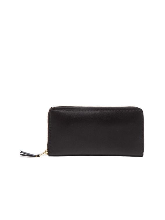 Classic Long Wallet in Black