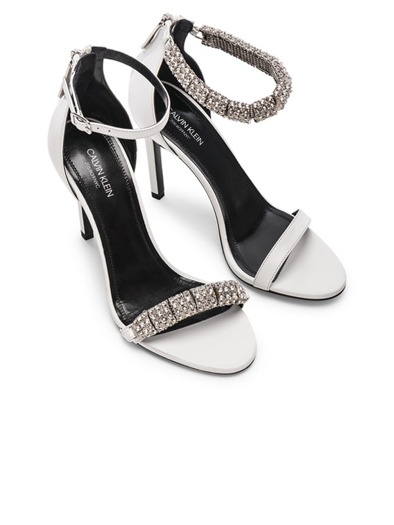 Camelle Heels in White