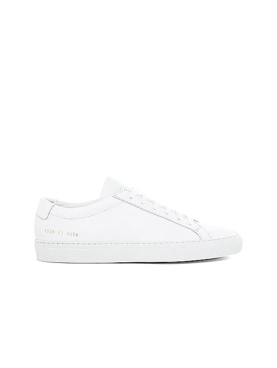 Original Leather Achilles Low in White