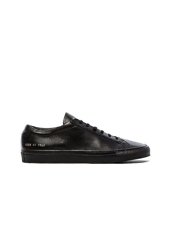 Original Leather Achilles Low in Black
