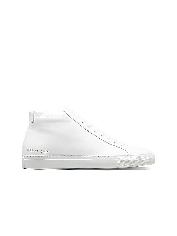 Original Leather Achilles Mid in White