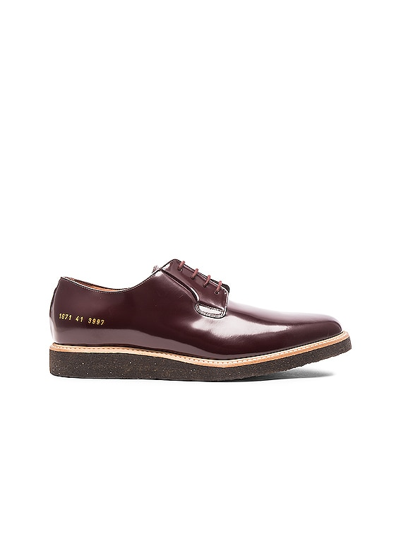 Derby Leather Shine in Oxblood