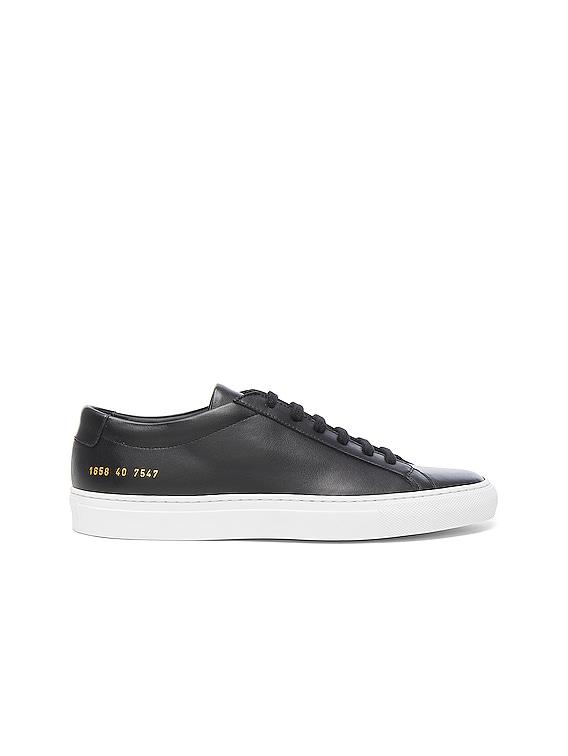 Original Leather Achilles Low in Black