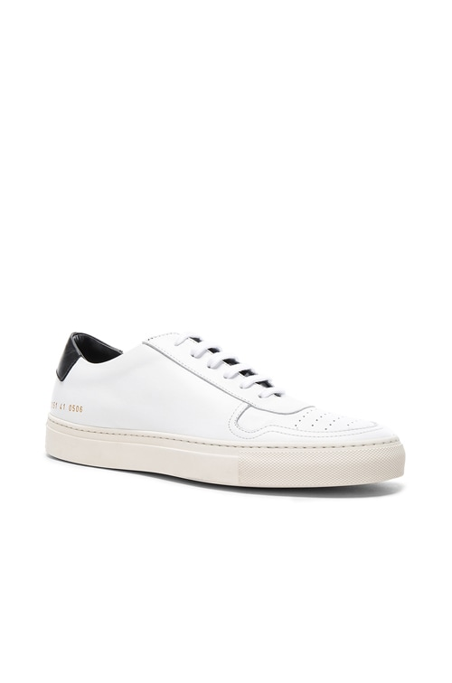 Common Projects Leather Bball Low Retro