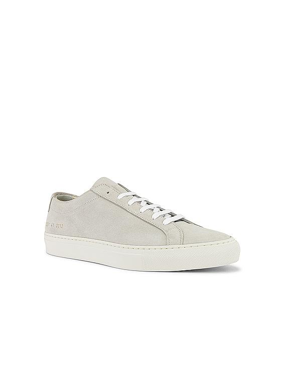 Original Achilles Low Suede Sneaker in Off White
