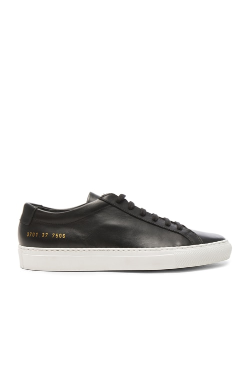 Leather Original Achilles Low in Black