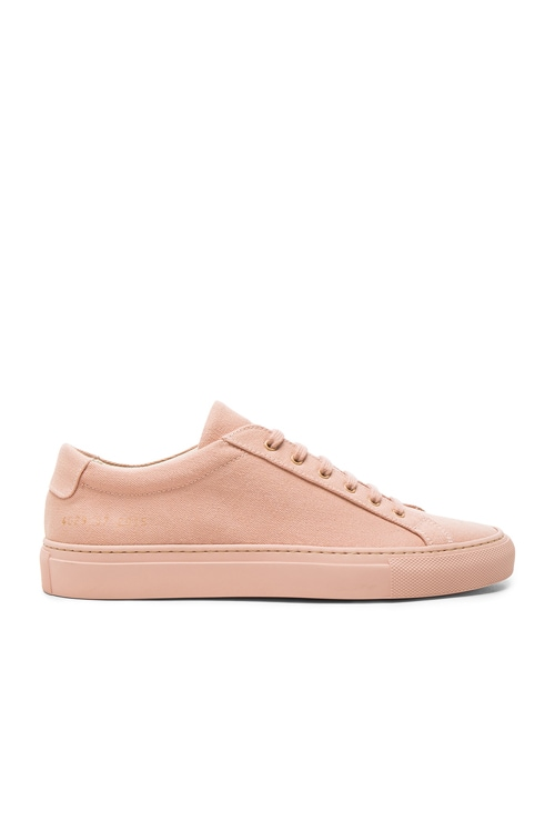 Common Projects Canvas Achilles Low in