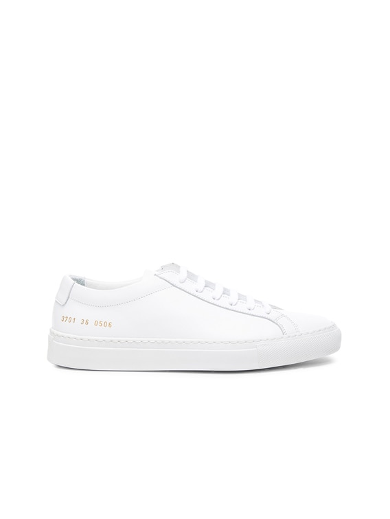 Leather Original Achilles Low in White