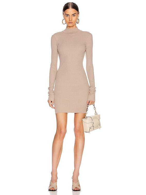 Ibiza Mini Dress in Sand Dollar