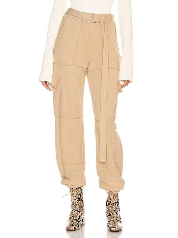 Brooklyn Cargo Pant in Sand Dune
