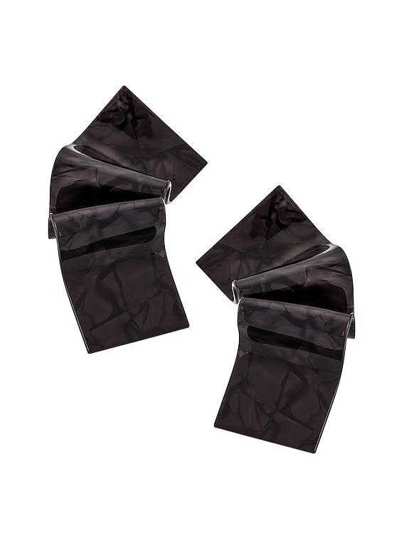 Earrings in Black