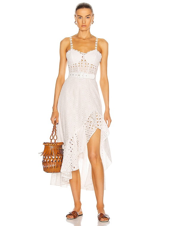 Julie Dress in White