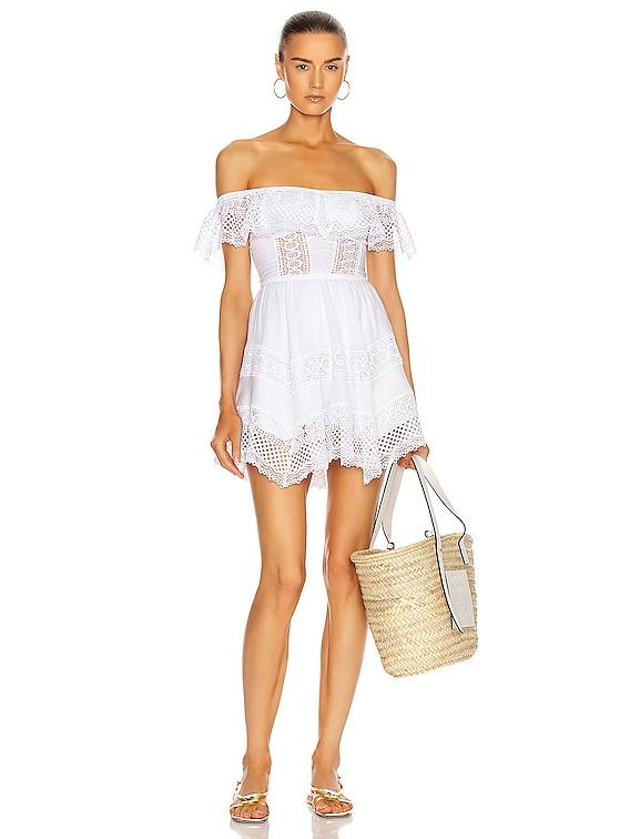 Vaiana Dress in White